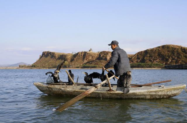 pêche nord-coréene